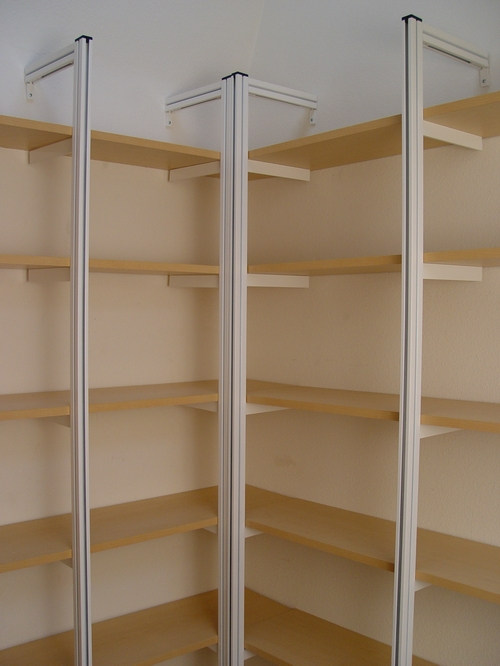 Build A Corner Storage Shelf