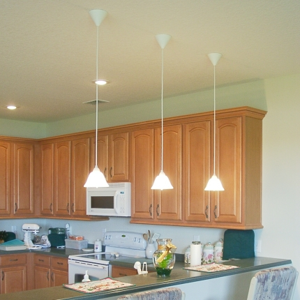 Breakfast bar lighting ideas